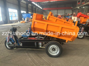 Heavy Loading Capacity Electric Cargo Tricycle/Small Dumper Truck for Mine Field pictures & photos