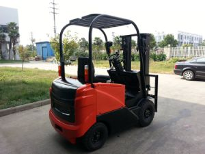 1.5ton Electric Forklift with 3stage 4m Mast pictures & photos