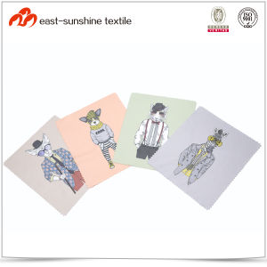High Quality Anime Printing Microfiber Glasses Cleaning Cloth pictures & photos