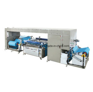Lr-Sw1200 Non Woven Roll Fabric Screen Printing Machine