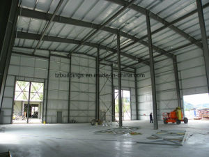 Single Span Pre-Engineered Steel Frame Buildings pictures & photos