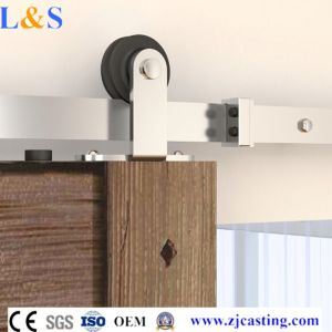 Barn Door Sliding Sigle Door Track Kits Quiet Glide Hook Roller Strap