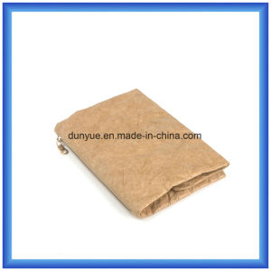 Factory Make New Material DuPont Paper Folding Bag, Eco-Friendly Promotion Tyvek Paper Storage Hand Bag with Zipper