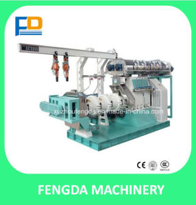 Single Screw Steam Extruder / The Raw Material Extrusion Machine
