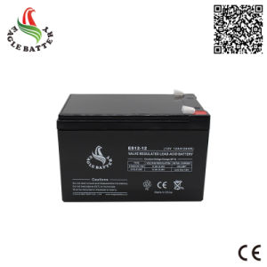 12V 12ah Rechargeable AGM Mf Lead Acid Battery