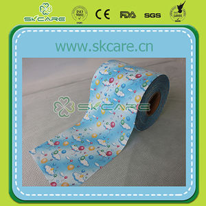 Soft Baby Diaper Loops Frontal Tape
