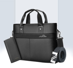 Men′s Handbags, Horizontal Men′s Bags, Men′s Business Bag, Men′s Shoulder Bag, Briefcase, Men′s Bag pictures & photos