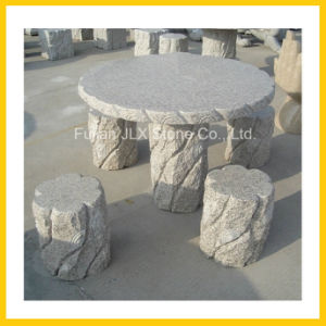 Outdoor Garden Stone Furniture Table & Chair