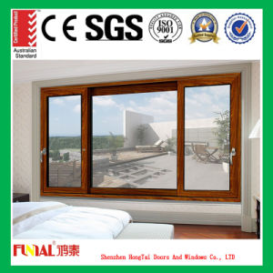 6mm and 8mm Single Glass Aluminum Sliding Window