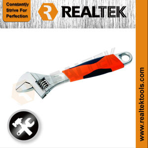 Drop Forged Adjustable Wrench Spanner with Scales pictures & photos