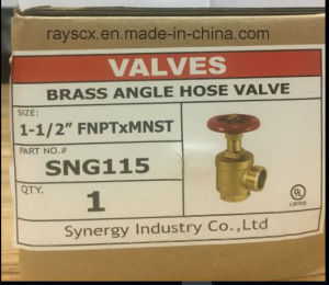 UL Listed Angle Fire Hose Valve pictures & photos