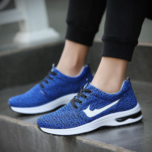 Men′s Leisure Sports Shoes Wholesale Agent Air Cushion Shoes Lace Fabric Flying Young Korean Fashion Men′s Shoes pictures & photos