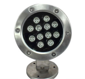 China CE Approved Swimming Pool LED Light Lamp Waterproof IP68 Multi Color Underwater LED Lights for Fountains (HL-PL18) pictures & photos