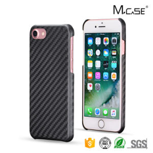 Superior Luxury Design Carbon Fiber Cell Phone Shell for iPhone 7 Mobile Phone Back Housing pictures & photos