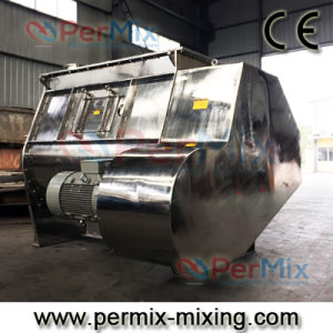 Twin-Shaft Paddle Mixer, Fluidized Zone Mixer for Food Powder Blending, Fast Powder Mixer pictures & photos