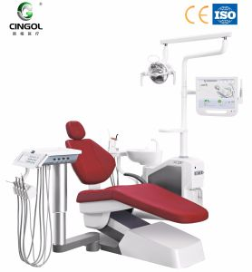 Multifuction Dental Chair with Intelligent Spittoon Disinfection
