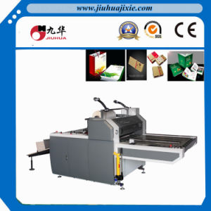 Semi Auto Thermal Film Paper Laminator with Flying Knife pictures & photos