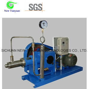 10MPa Working Pressure Liquid Natural Gas LNG Cryogenic Pump