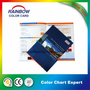 china professional pamphlet leaflet color card brochure china wall