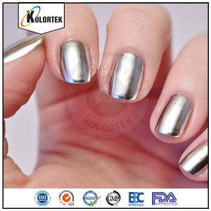 Cosmetic Grade Super Shiny Silver Flakes in Nail Polish pictures & photos