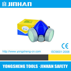 Jinhan Double Cartridges Dust Mask Respirator Mask (D-1004B)