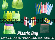 Biodegradable T-Shirt Plastic Bag with Eco Friendly Material