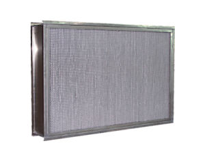High Temperature Stainless Steel Frame Filter