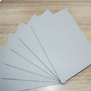 300GSM ~ 2200GSM Grey Chip Board/Duplex Board Solid Grey Uncoated Grey Color Chipboard