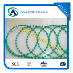 Direct Factory Hot Sales Galvanized Razor Barbed Wire (Export Quality) pictures & photos