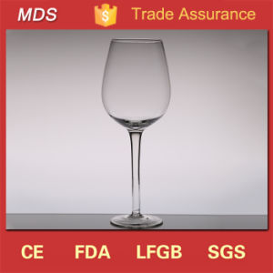 Mouth Blown Custom Dessert Crystal Wine Glasses Factory China pictures & photos
