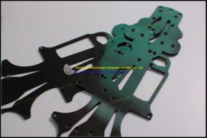 China Factory Supply CNC Carbon Fiber Plates for R/C Heli Quad Multicopter