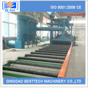 2016 High Quality Roller Conveyor Shot Blasting Machine pictures & photos