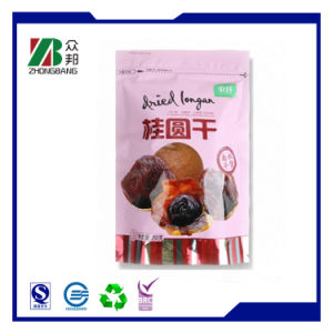 Dry Fruit Plastic Bag with Bottom Gusset and Euro Hole pictures & photos