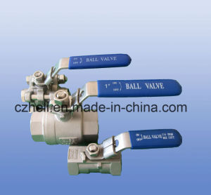 Stainless Steel 2 PCS Ball Valve 1000wog mm pictures & photos