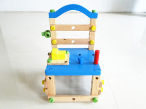 Wooden Toys Wooden Nut And Tools Chair Educational Toy Hand Tools Wooden Toy For Kids Children Toy Diy Toy