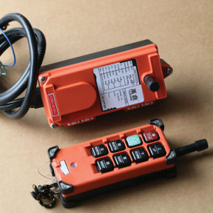 Wireless Remote Control for Hoists F21-6s Crane Control pictures & photos
