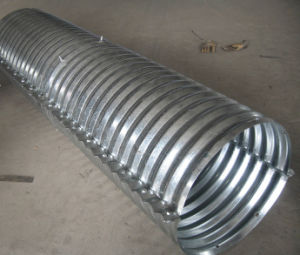 Diameter1200mm Corrugated Culvert Pipe pictures & photos