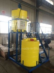 PE Plastic Chemical Dosing Tanks with Dosing Pump