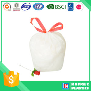 Low Density Drawstring Trash Bag on Roll pictures & photos