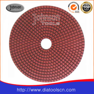 125mm Diamond Wet Pad for Stone pictures & photos