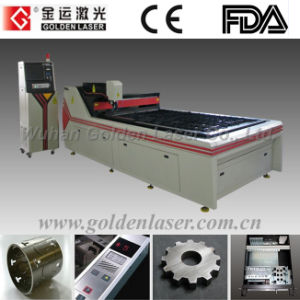 YAG Metal Laser Cutting Machine for Stainless Steel, Mild Steel, Brass, Aluminum (GJMSJG-150300DT)