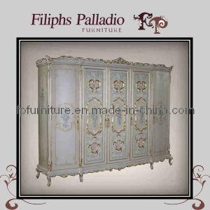 China Italian Classic Design Bedroom Furniture - Classic Wardrobe ...