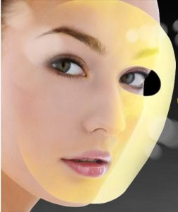 24k Gold Mask High Skin Tightening Collagen Mask