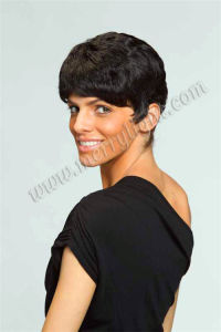 Simple Synthetic Hair Wig