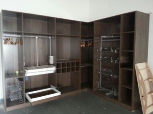 MDF with Melamine Surface Closet
