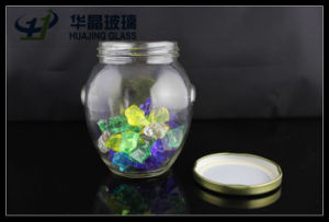 2015 Hot Sale Huajing 475ml Jam Glass Mason Jar
