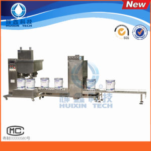 Automatic Adhesive Filling Machine with Conveyor Belt pictures & photos