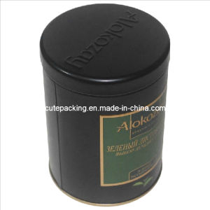 FDA Approved Round Tea Tin Box (TB09)
