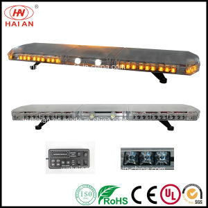 Vehicles for Public Safety Clear Dome LED Lightbar Ambulance Fire Engine Police Car Lightbar pictures & photos