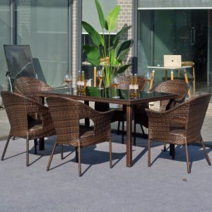 Fashion Outdoor Garden Rattan Furniture Sofa